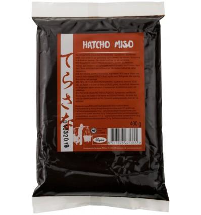 Terrasana Hatcho miso (soja) ongepasteuriseerd 400 gram | € 4.49 | Superfoodstore.nl