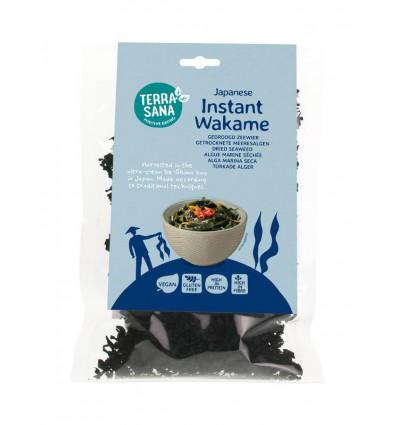 Terrasana Instant wakame 50 gram | Superfoodstore.nl