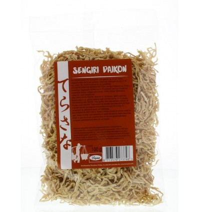 Terrasana Sengiri daikon radijs gedroogd 100 gram |