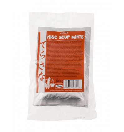 Terrasana Instant miso soep wit 7 gram 10 stuks |