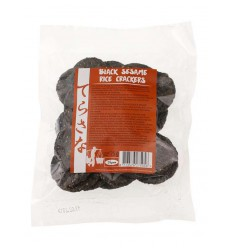 Crackers Terrasana Zwarte sesam bruine rijstcrackers 75 gram