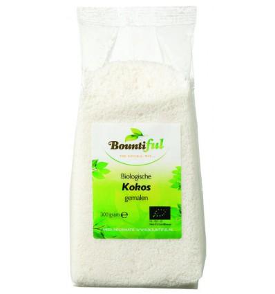 Bountiful Kokos gemalen bio 300 gram | Superfoodstore.nl