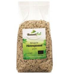 Bountiful Hennepzaad bio 500 gram | Superfoodstore.nl