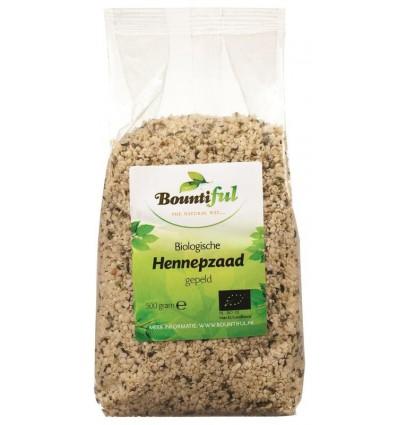 Bountiful Hennepzaad bio 500 gram