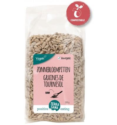 Terrasana RAW Zonnebloempitten 250 gram | Superfoodstore.nl