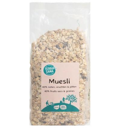 Terrasana Muesli noten & zuidvruchten 750 gram |