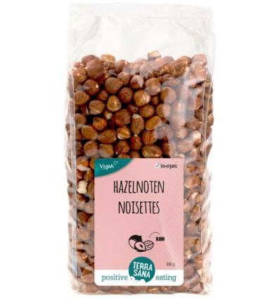 Terrasana Hazelnoten bruin gepeld 800 gram | € 16.71 | Superfoodstore.nl