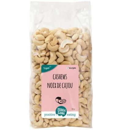 Terrasana Cashewnoten ongeroosterd zonder zout 750 gram  