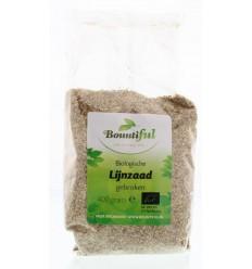 Bountiful Lijnzaad gebroken 400 gram | Superfoodstore.nl