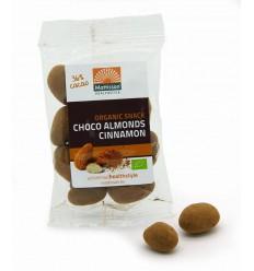Mattisson Amandelen kaneel snack pure chocolade 35 gram |