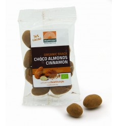 Mattisson Amandelen kaneel snack pure chocolade 35 gram | € 1.75 | Superfoodstore.nl