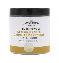Jacob Hooy Kaneel Ceylon 80 gram | Superfoodstore.nl