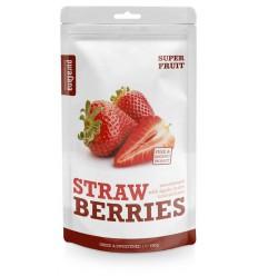 Purasana Aardbeien 150 gram   Superfoodstore.nl