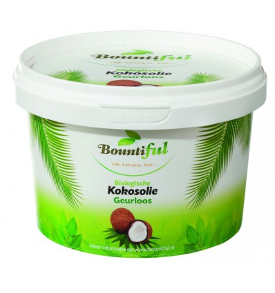 Bountiful Kokosolie geurloos bio 500 ml