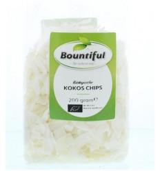Bountiful Kokos chips bio 200 gram | € 2.57 | Superfoodstore.nl