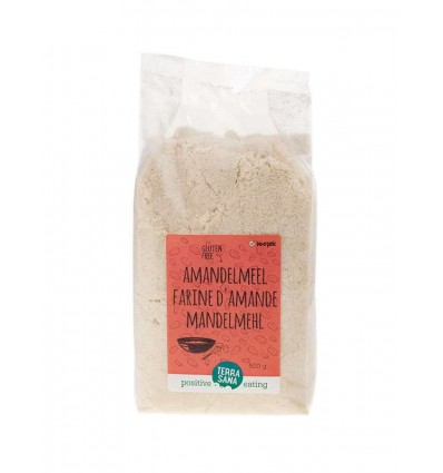 Terrasana Amandelmeel 500 gram   Superfoodstore.nl