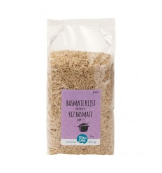Terrasana Basmati rijst bruin 1 kg | Superfoodstore.nl