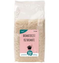 Terrasana Basmati rijst wit 1 kg | Superfoodstore.nl