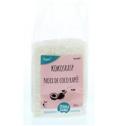 Terrasana Kokosrasp 250 gram | Superfoodstore.nl
