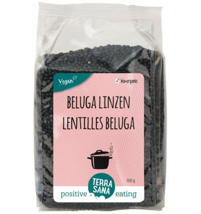 Peulvruchten Terrasana Linzen beluga 500 gram kopen