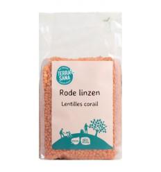 Terrasana Linzen rood 500 gram | Superfoodstore.nl