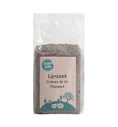 Terrasana RAW lijnzaad heel 500 gram | Superfoodstore.nl