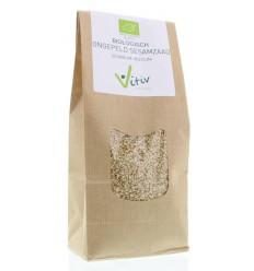 Vitiv Sesamzaad ongepeld 500 gram | Superfoodstore.nl
