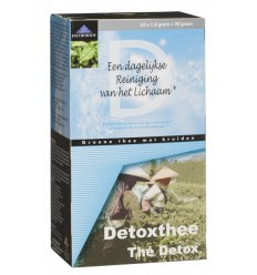 Thee Jacob Hooy Detox theezakjes 50 zakjes kopen