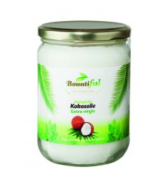 Bountiful Kokosolie extra virgin 500 ml | Superfoodstore.nl