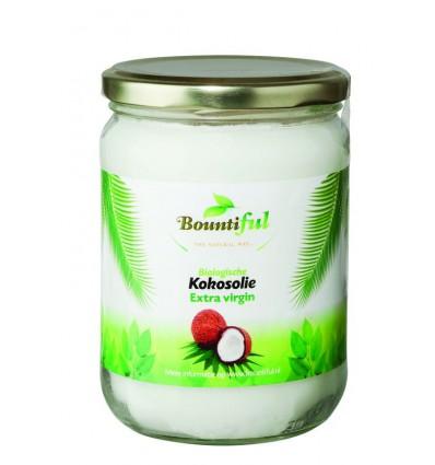 Bountiful Kokosolie extra virgin 500 ml | Superfoodstore.nl