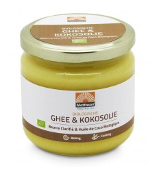 Mattisson Ghee kokosolie bio 300 gram | Superfoodstore.nl