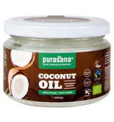 Purasana Kokosolie extra virgin bio 250 ml | Superfoodstore.nl