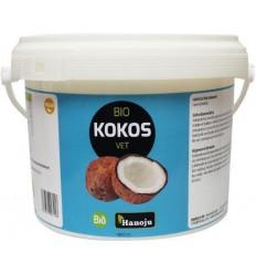 Hanoju Kokosolie geurloos bio 1800 ml | Superfoodstore.nl