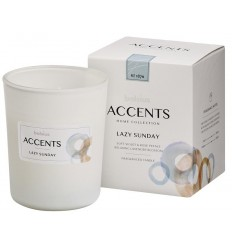 Bolsius Accents geurkaars lazy sunday | € 8.51 | Superfoodstore.nl
