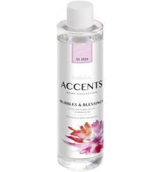 Bolsius Accents diffuser refill bubbles & blessings 200 ml |
