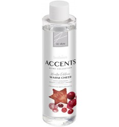 Bolsius Accents diffuser refill warm cheer 200 ml | € 12.25 | Superfoodstore.nl