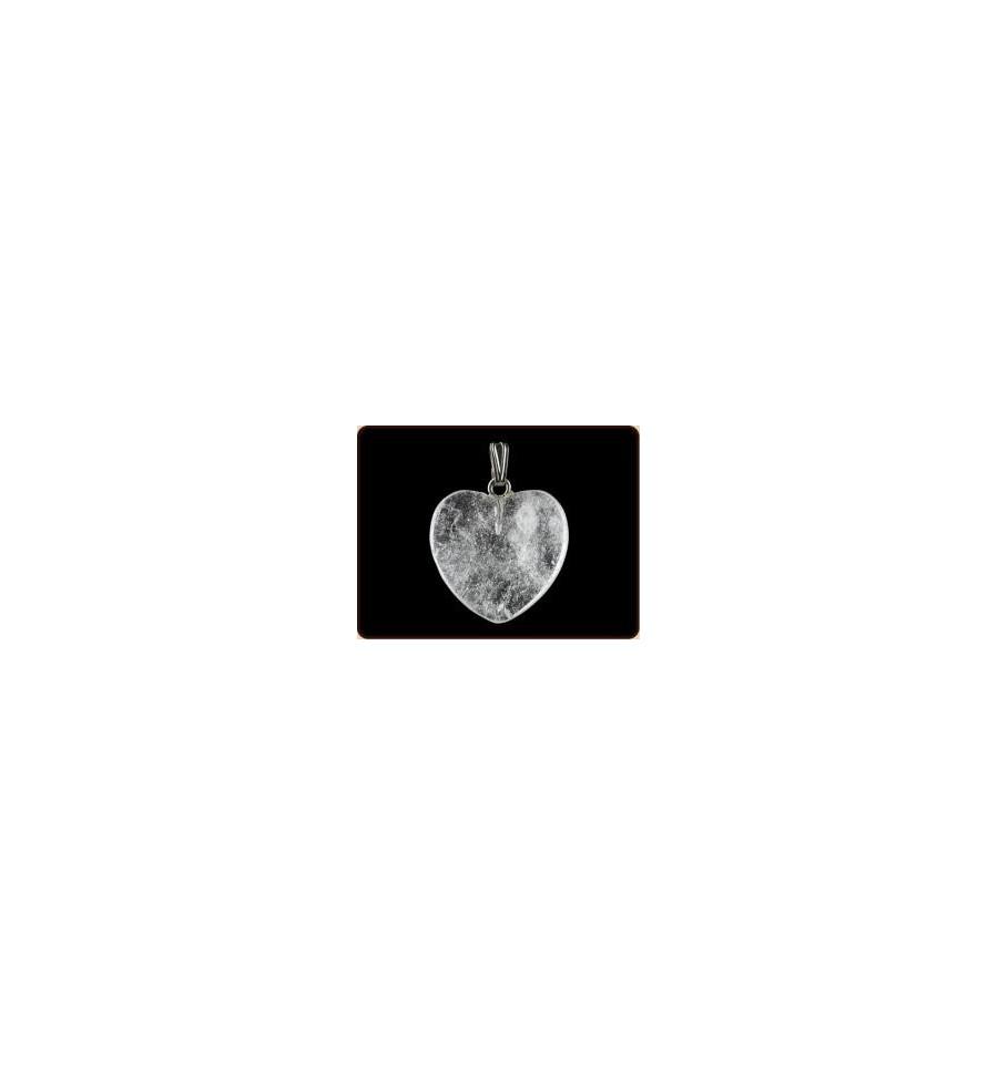 Ruben Robijn Hanger hart 20 mm bergkristal