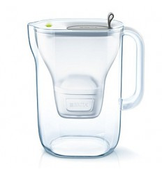 Brita Fill & enjoy style cool grey | Superfoodstore.nl