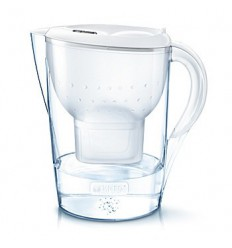 Brita Fill & enjoy marella XL white | Superfoodstore.nl