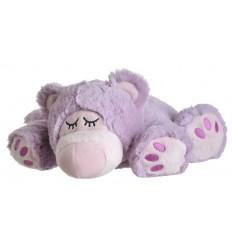 Warmte elementen Warmies Sleepy bear lila kopen