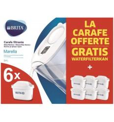 Brita Fill & enjoy marella cool white half year pack | € 42.63 | Superfoodstore.nl