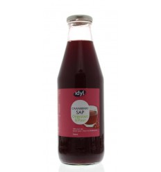 Idyl Cranberrysap ongezoet 750 ml | Superfoodstore.nl
