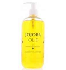 Naturapharma Jojoba olie met pompje 500 ml | € 41.77 | Superfoodstore.nl