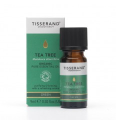 Tisserand Aromatherapy Tea tree organic 9 ml | € 9.53 | Superfoodstore.nl