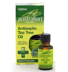 Optima Australian tea tree olie 25 ml | Superfoodstore.nl