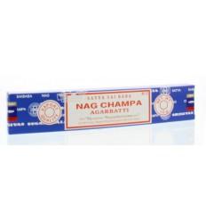Nag Champa Wierook nag champa agarbatti 15 gram |
