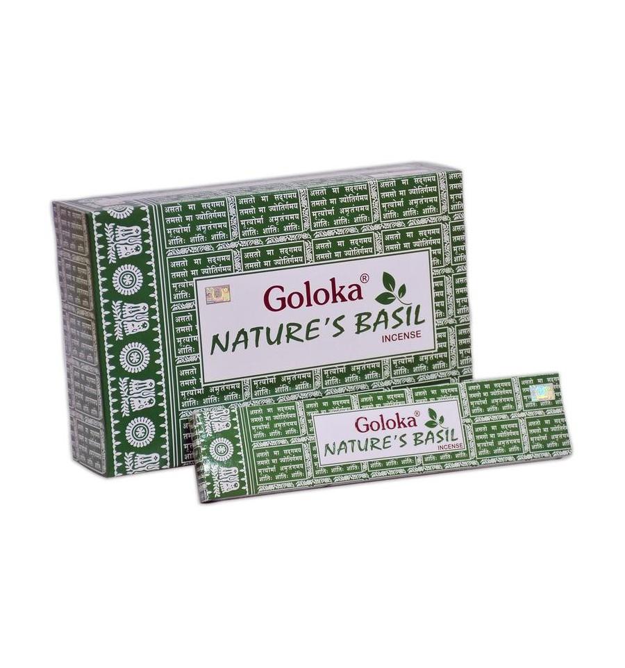 Goloka Wierook goloka natures basil 15 gram