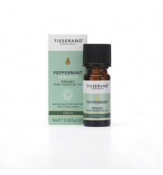 Tisserand Aromatherapy Peppermint organic 9 ml | € 11.13 | Superfoodstore.nl