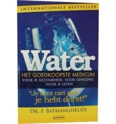 Water - het goedkoopste medicijn | Superfoodstore.nl