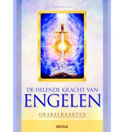 Helende kracht van engelen boek en orakelkaarten 1 set
